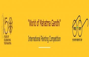 """World of Mahatma Gandhi"" International Painting Competition"