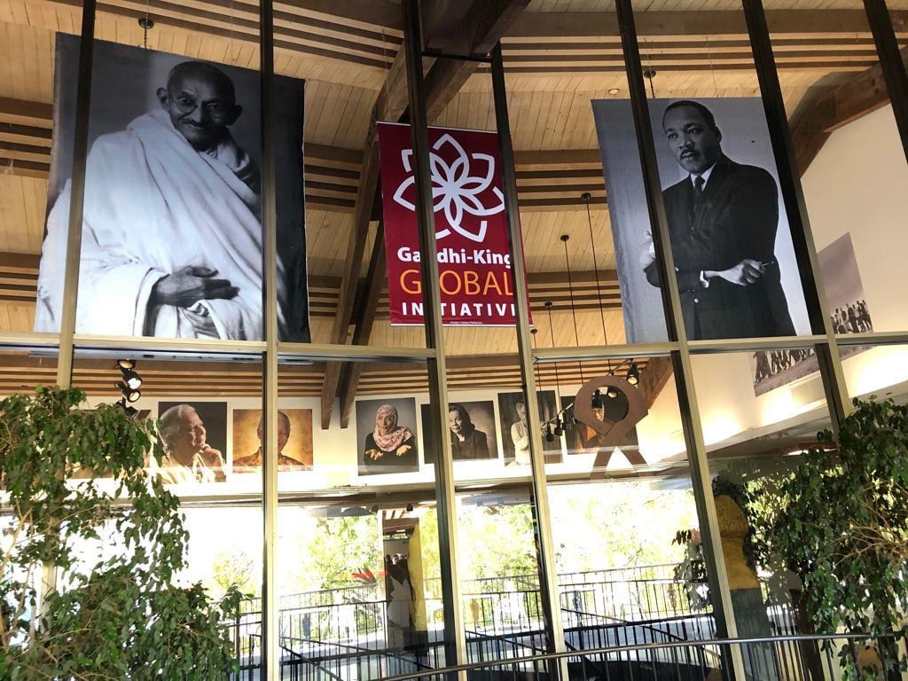 The Gandhi King Global Initiative (GKGI) launched at Stanford University as part of #GandhiAt150 celebrations. Honored to share the stage with several scholars from all over the world committed to carry on the Gandhi-King legacy