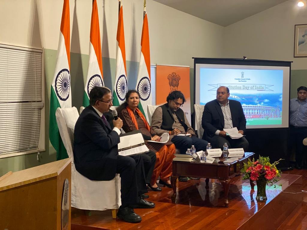 """Panel discussion on """"Indian Constitution @ 70: Managing Diversity, Democracy & Development"""""""
