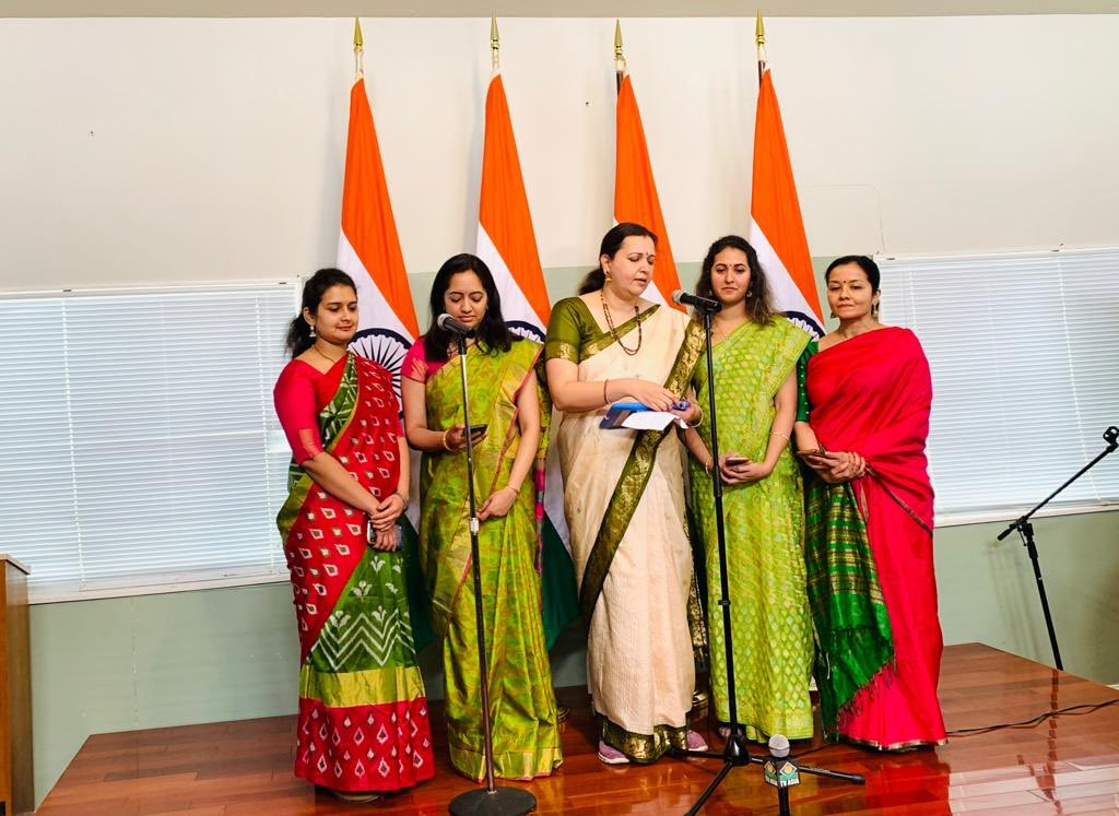 The 71st RepublicDay was celebrated with great enthusiasm at the Consulate General of India, San Francsico. CG Amb. Sanjay Panda hoisted the National Flag before a large gathering of Indian community and read the address of Hon'ble President of India to the Nation.