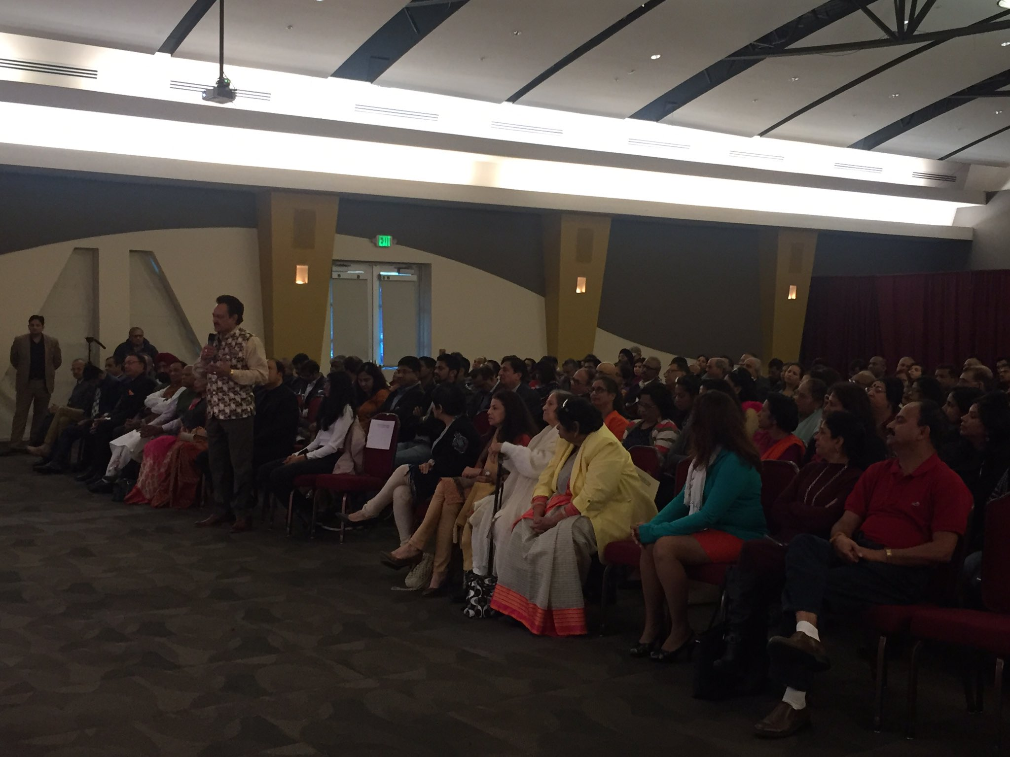 Pravasi Bharatiya Divas 2020 at ICC Milpitas with enthusiastic participation by community members.