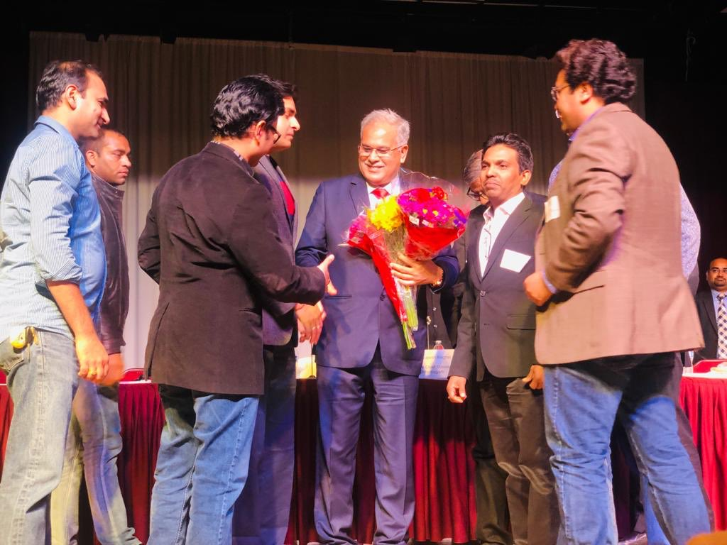 Hon'ble Chief Minister Bhupesh Baghel visit to the Bay Area