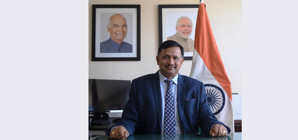 Ambassador Dr. T V Nagendra Prasad took over as the new Consul General of India in San Francisco.