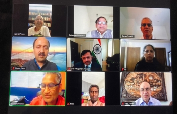 Hindu Swayamsevak Sangh USA - Central Pacific chapter welcomed Consul General Dr. Nagendra Prasad at a virtual event on July 21, 2020.