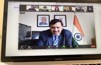 Bay Area Council a leading think tank in Silicon Valley, organized a virtual event to welcome Consul General Dr. Nagendra Prasad to San Francisco on July 22, 2020.