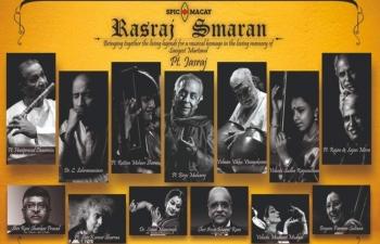 Online memorial concert in memory of Pandit Jasraj