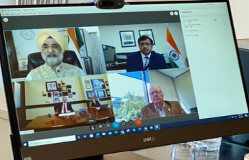 A very productive meeting between Amb. Tranjit Singh Sandhuand Idaho Governor Brad Little on range of potential areas and new avenues for cooperation.