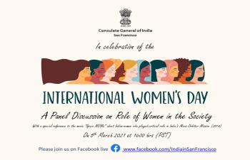 International Women's Day: A Panel Discussion on Role of Women in the Society