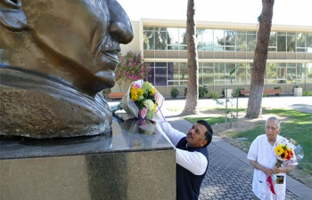 Consul General Dr. T.V. Nagendra Prasad visits Fresno State campus
