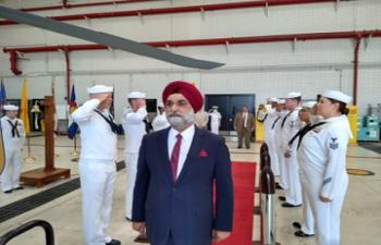 Ambassador Taranjit Singh Sandhu Visits California (July 15-21, 2021)