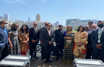 Hon'ble Mayor London Breed presented a proclamation designating August 15, 2021 India's Independence Day as